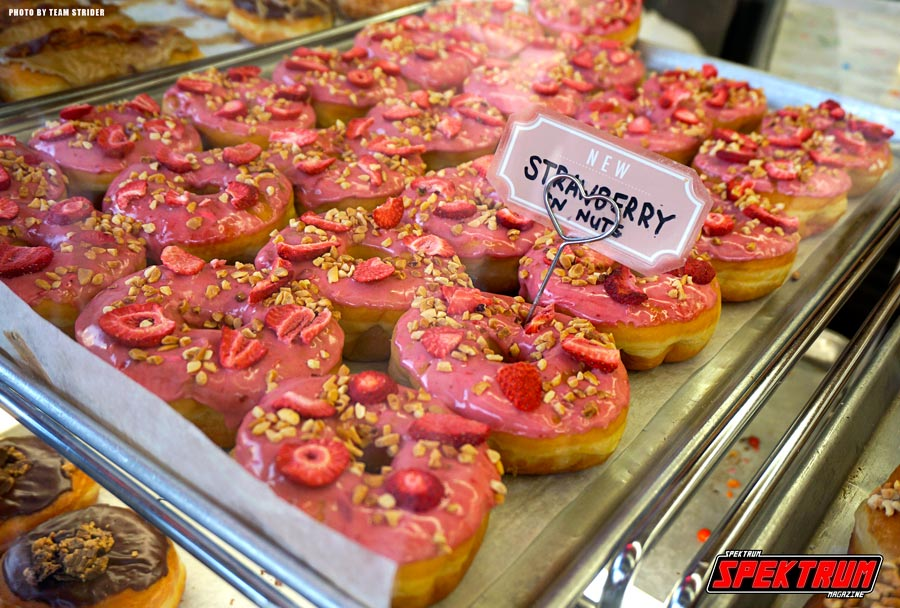 Special K Strawberry Donuts