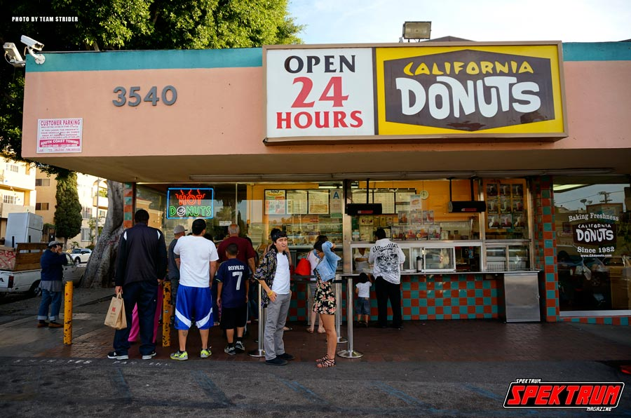 California Donuts store front. You'll know it when you see it