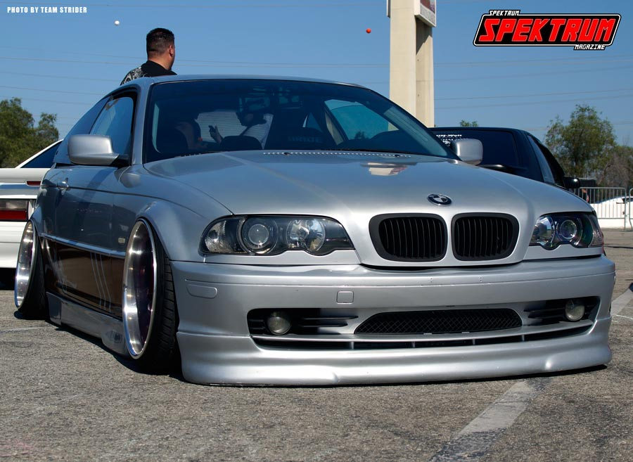 Slammed and Stanced BMW