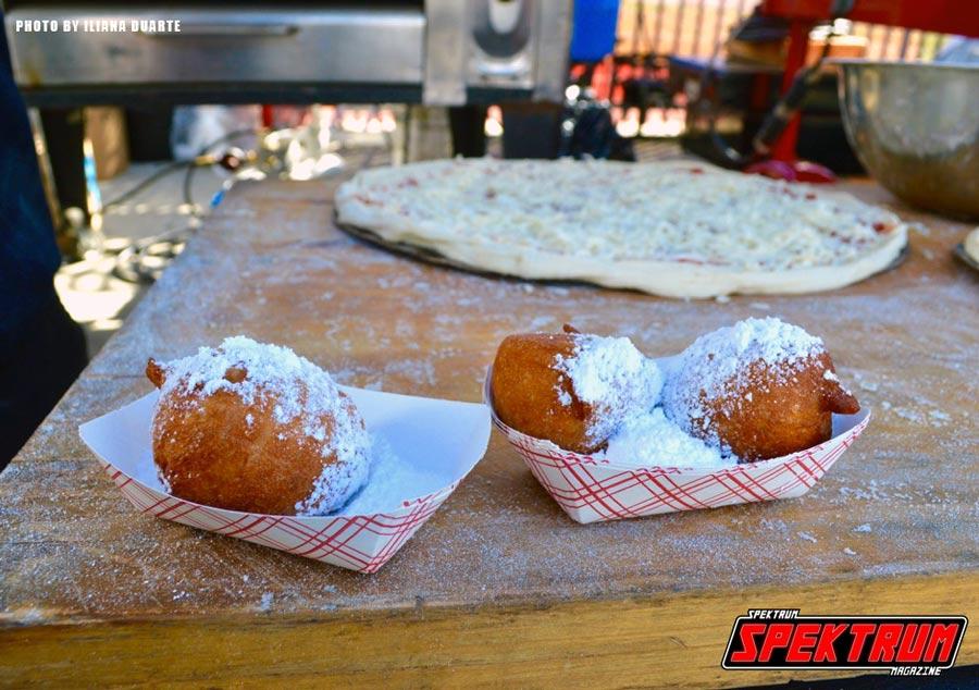 Italian Zeppole's. Photo by Iliana Duarte