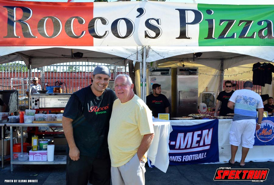 Rocco's Pizza owner and Festival Founder. Photo by Iliana Duarte