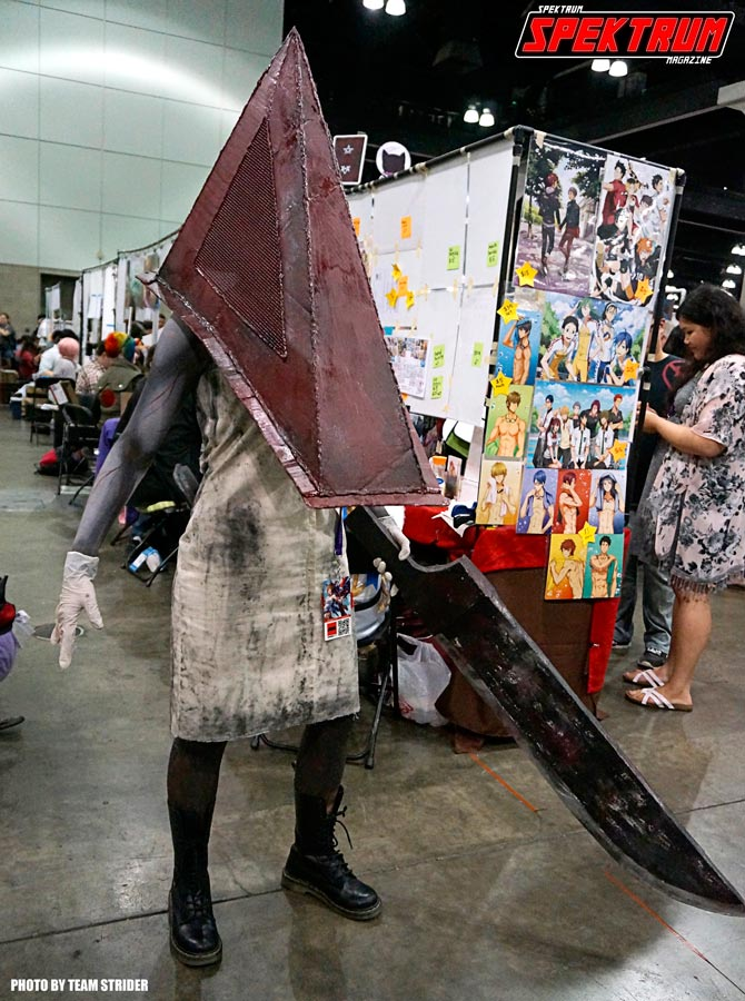 Pyramid Head cosplay from Silent Hill at Anime Expo