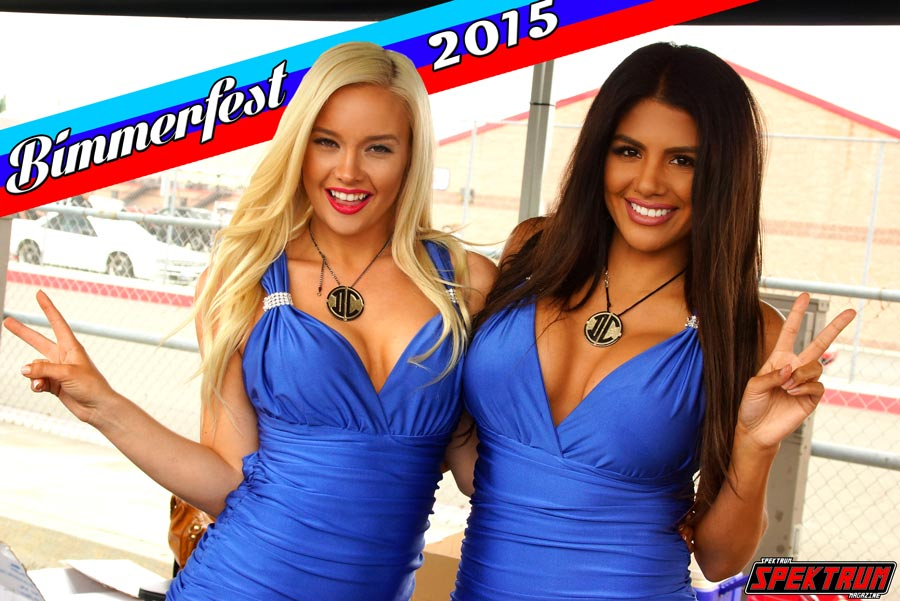 Lisa and Elizabeth pose for the camera at Bimmer Fest 2015