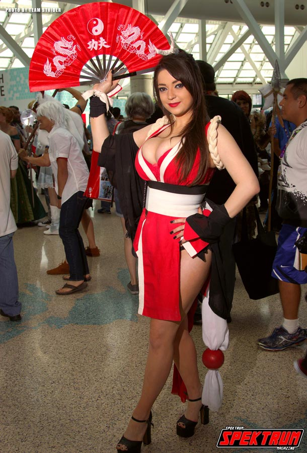 Mai Shiranui cosplay from Anime Expo 2015