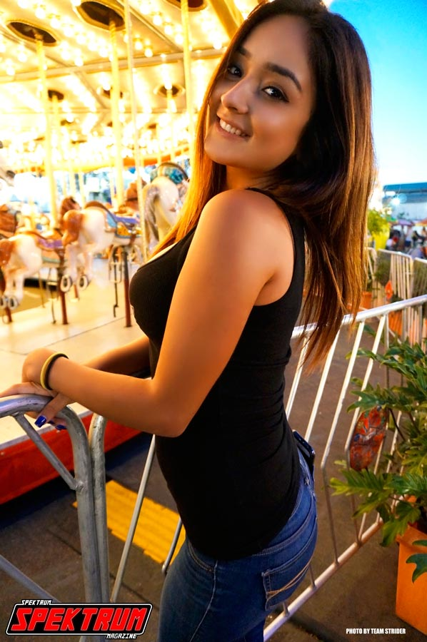 Why is Hanna smiling? She's at the OC Fair, that's why :)