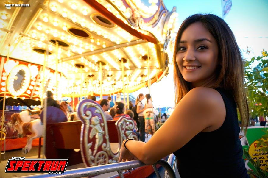 At the OC Fair with our very own model Hanna
