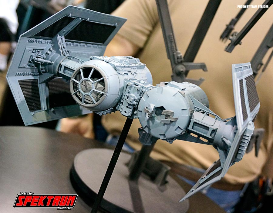 TIE Bomber model from Revell