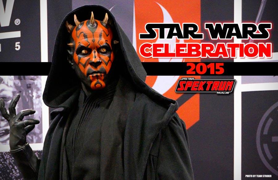 Darth Maul at the Star Wars Celebration