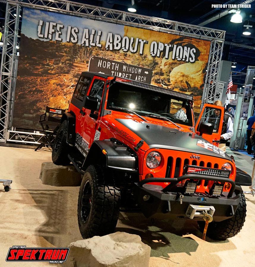 Even off-road vehicles have their moment in the limelight at SEMA