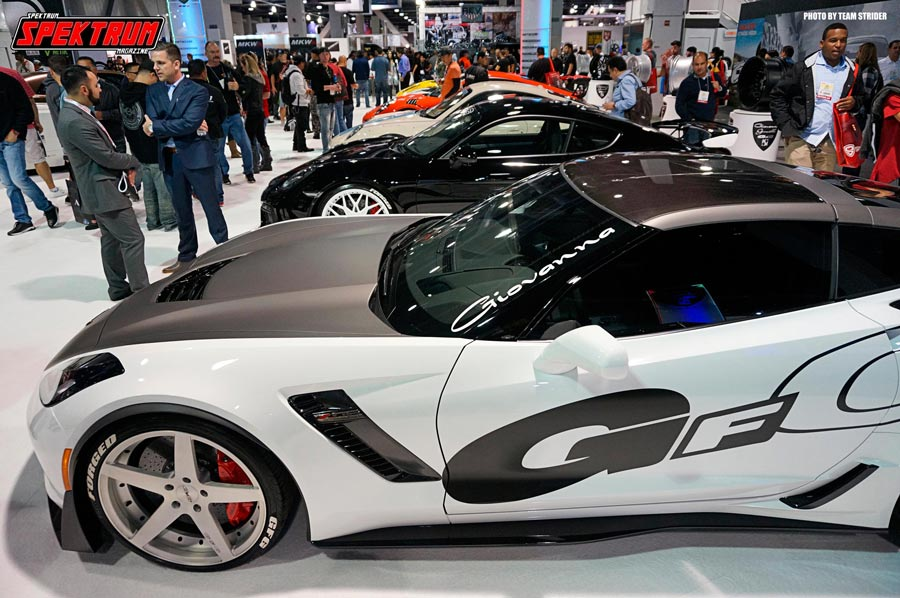 Corvettes and Porsches. What more can one ask for?