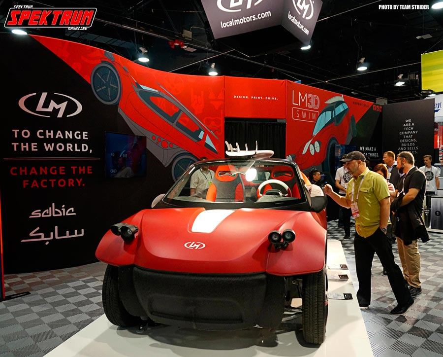 While it may not look too spectacular, this is a fully 3D printed car