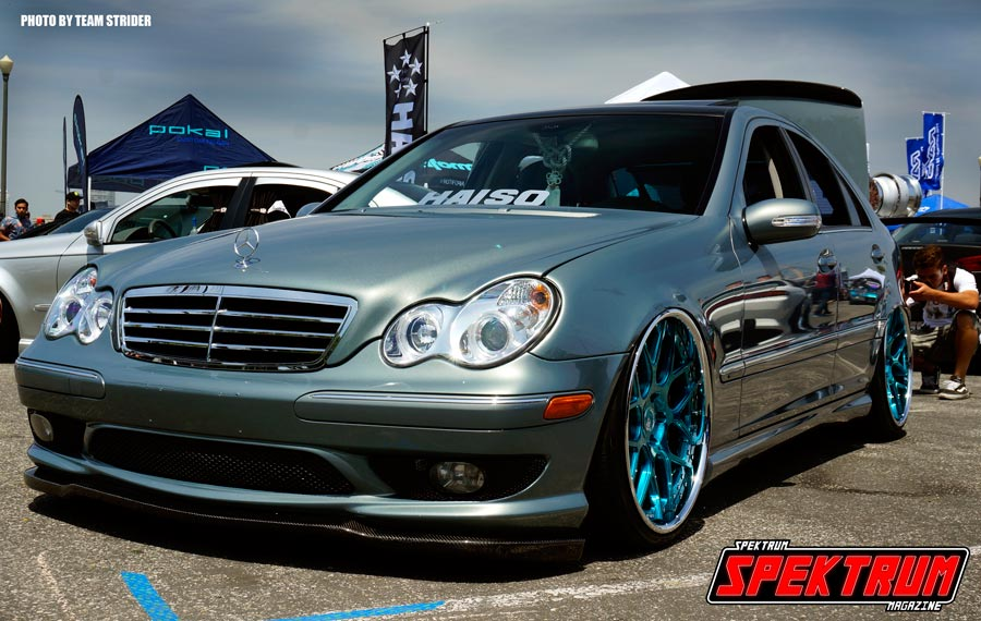 Sweet Mercedes at Wekfest Long Beach