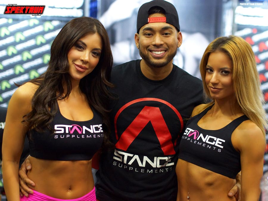 Part of the crew at Stance Supplements