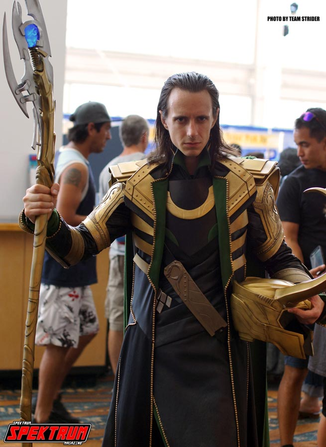 One awesome Loki cosplayer from the LBCE
