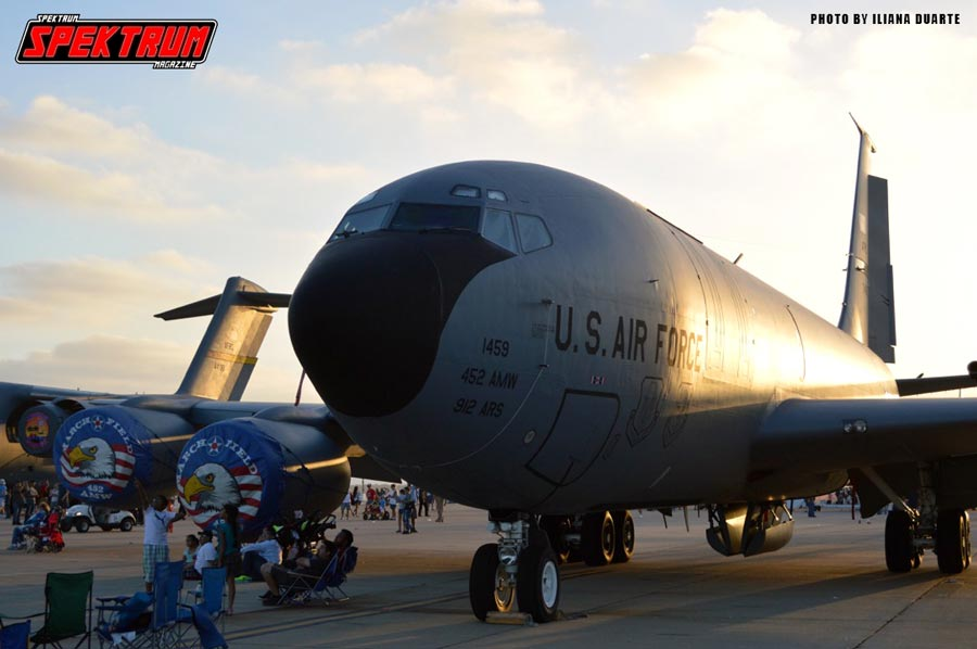 The workhorse of the Air Force, the KC-135