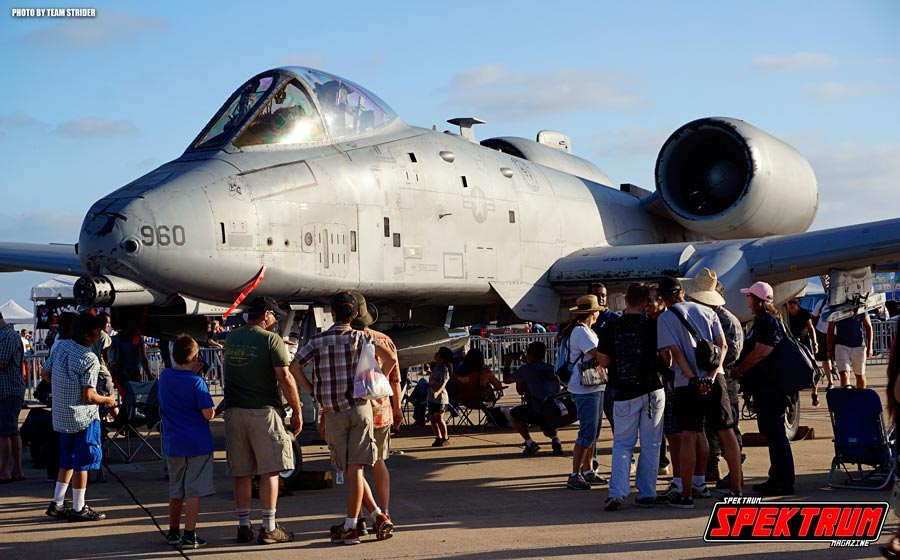 The legendary A-10 Warthog at Miramar