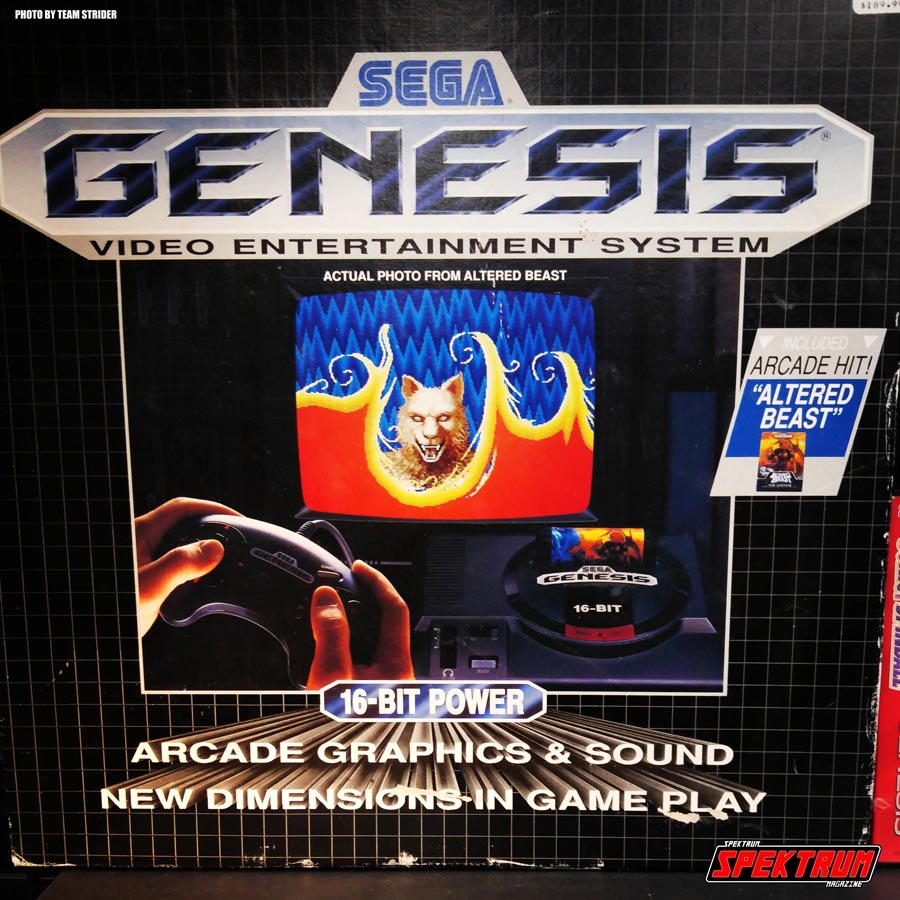 Altered Beast was the original pack-in game for the Genesis