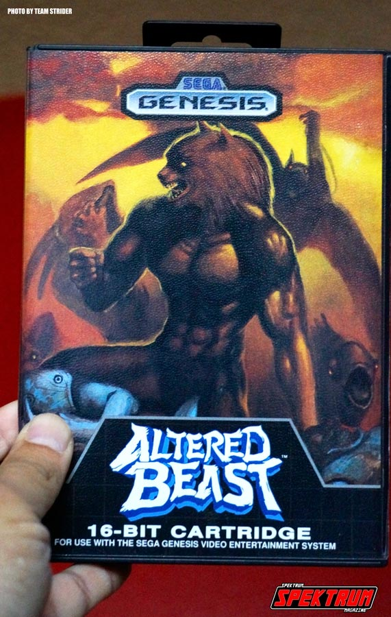 The original Genesis clam shell for Altered Beast