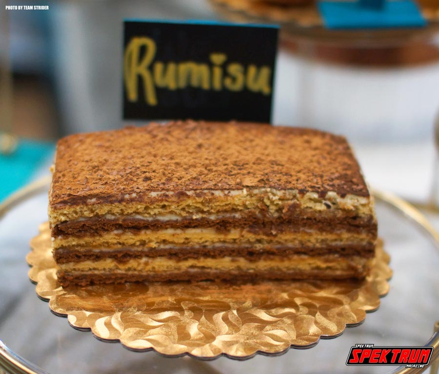 Rumisu cake at the LA Cookie Con