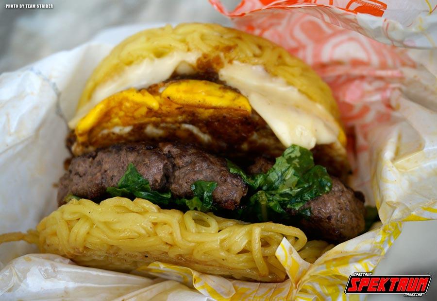 The Original Ramen Burger in all it's glory