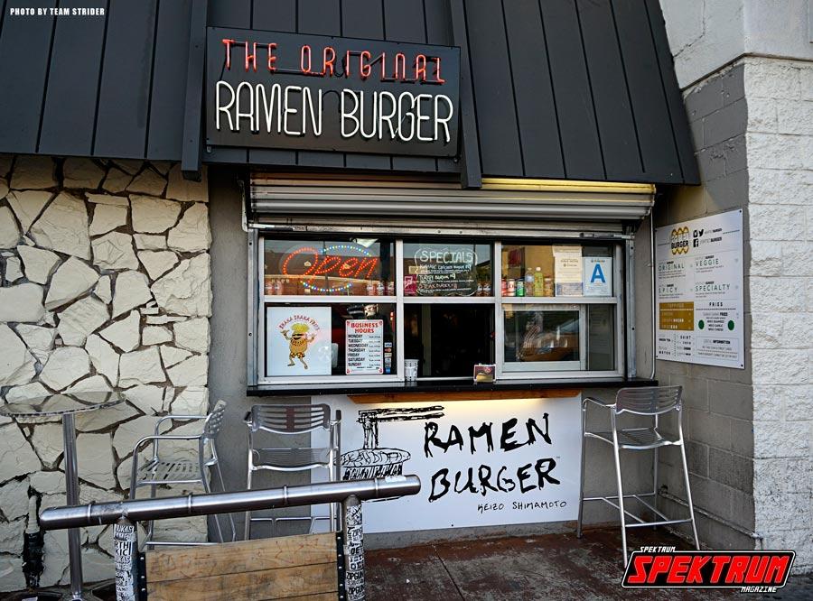 The Original Ramen Burger location
