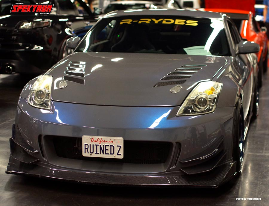 From team R-Rydes comes this crazy Nissan 350Z