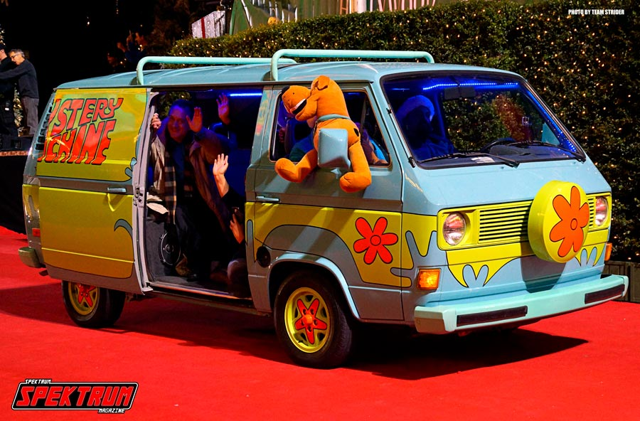 The Mystery Van from Scooby-Doo