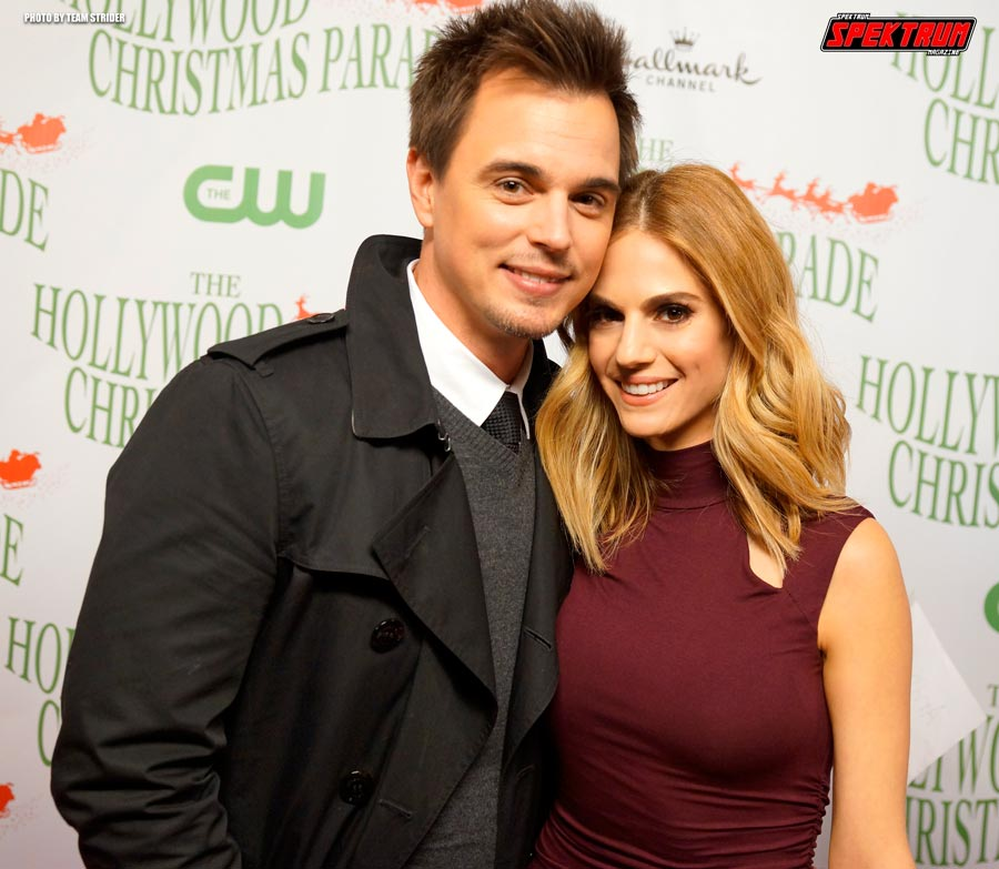 Actor Darin Brooks and his co-star Kelly Kruger