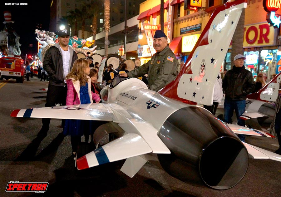 The Air Force Mini Jets up-close