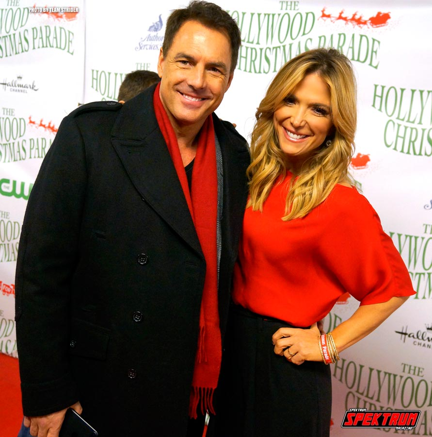 Journalist and actor Mark Steines with friend on the Red Carpet