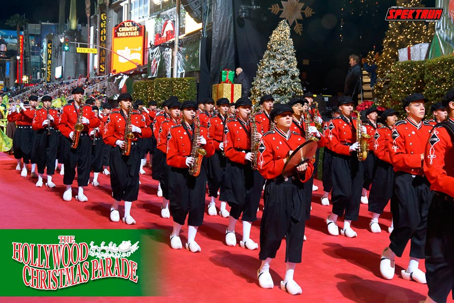 the hollywood christmas parade