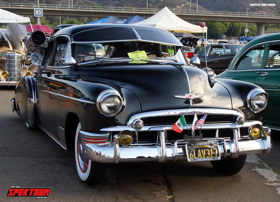 A classic Chevrolet Master Deluxe at Extreme Autofest