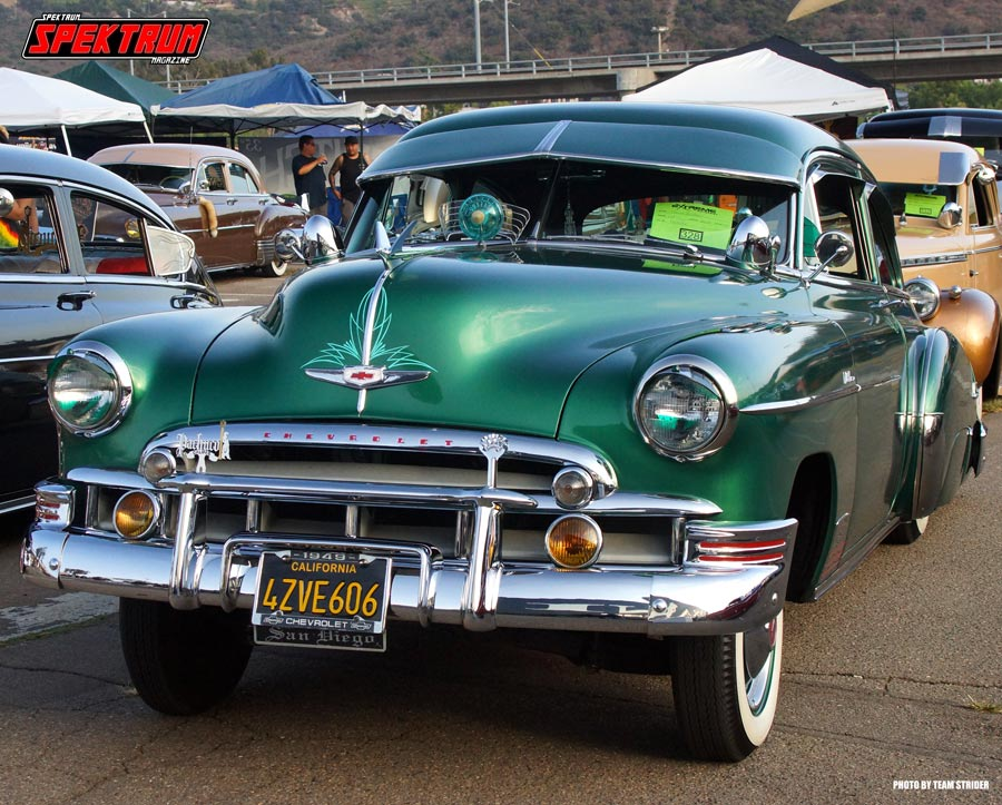 One more incredible Chevy Master Deluxe's in attendance at the San Diego show