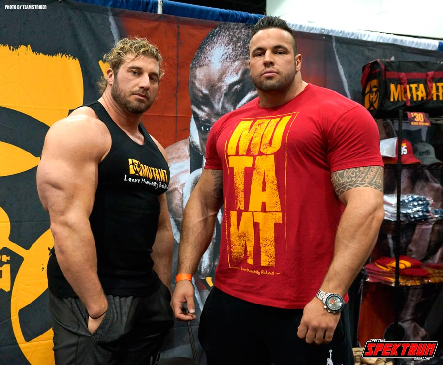 Two awesome reps from Mutant Muscle
