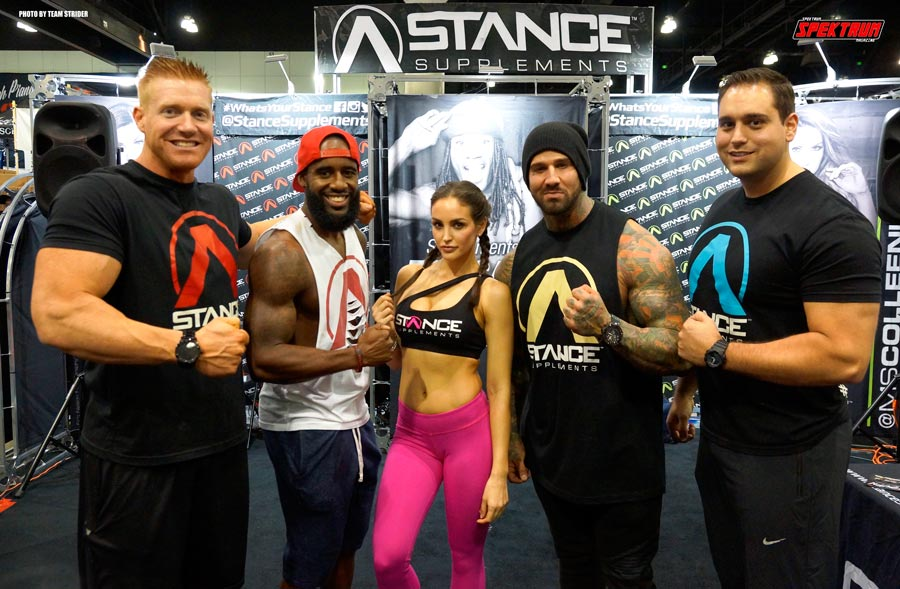 Stance Supplements team, including Jaclyn Swedberg and friends