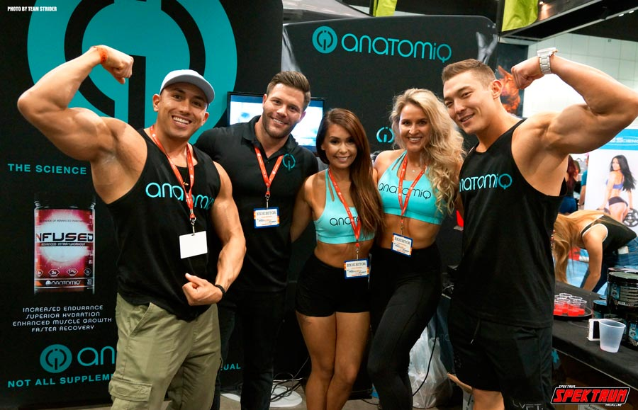 Team Anatomiq showing off the results of all their hard work