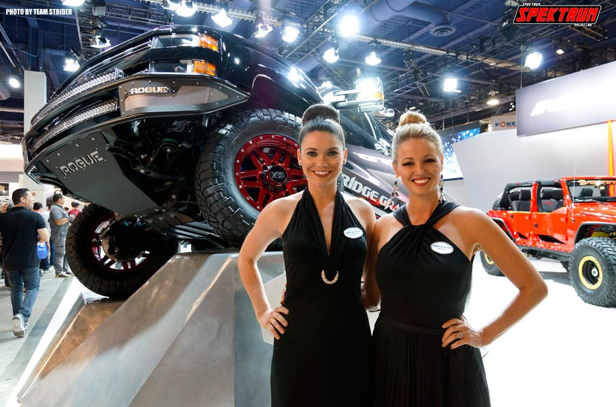 Beautiful models Allie and Rosalie for Nitto Tires