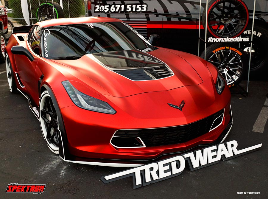 Tred Wear Custom Corvette Stingray