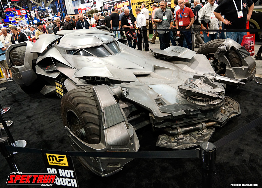 Just when you think that you have seen everything at SEMA, they throw this at you. The Batmobile