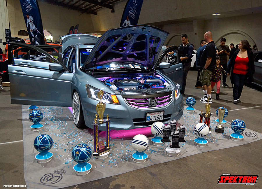 Our friend Ben, from Image Hydrographics brought his car to the show