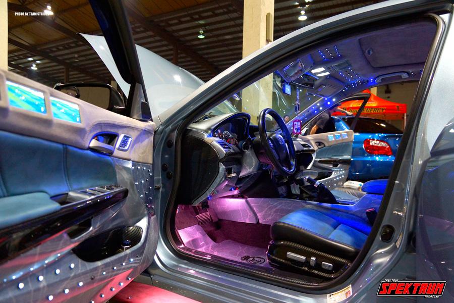 Interior of Image Hydrographic's Car
