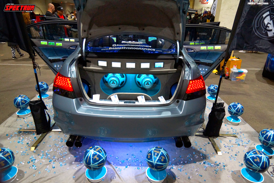 The rear of the Honda Accord from Image Hydrographics