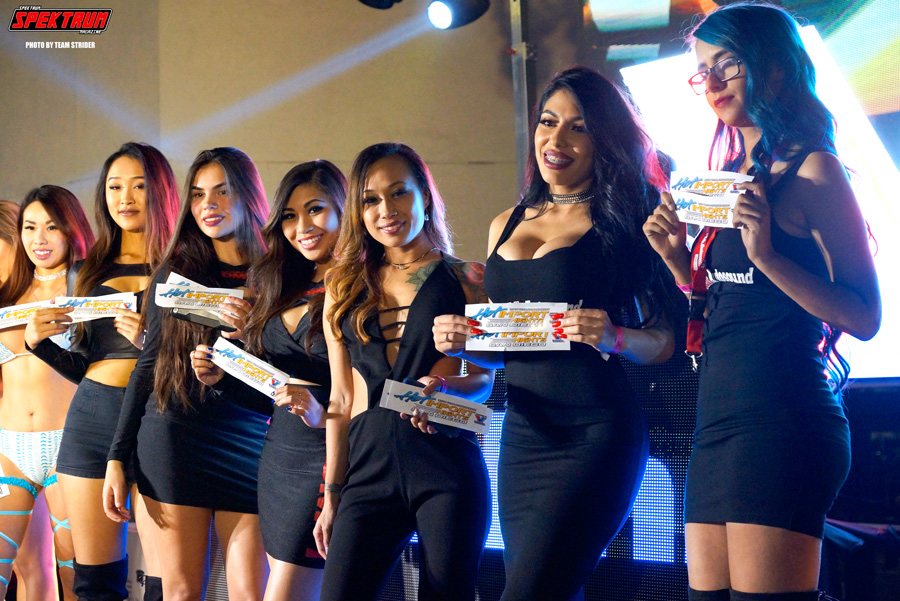 Up close and personal with the models from the Miss HIN Competition
