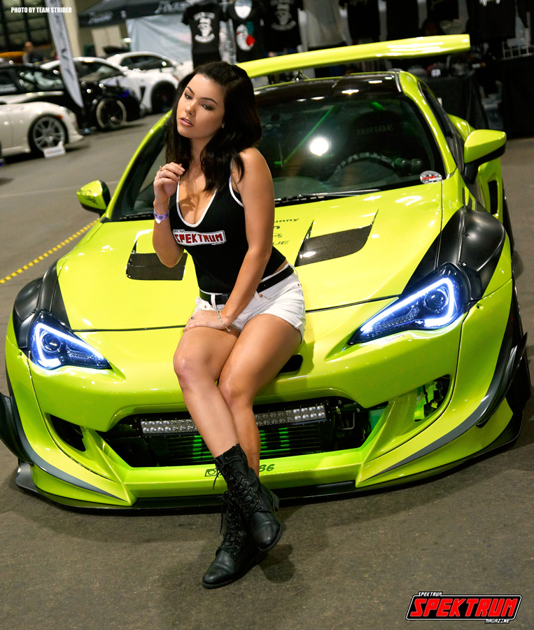 One more shot of our team member Lexznai at HIN