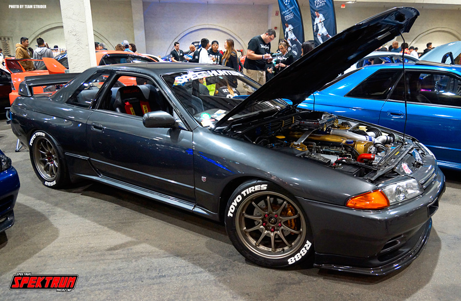 Fantastic Nissan Skyline at Hot Import Nights