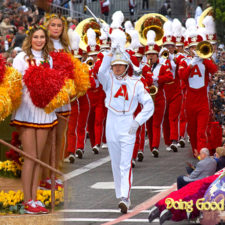 Rose Pedals on the Streets of Pasadena: Coverage of the Rose Parade 2017