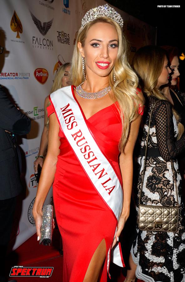 Miss Russian LA 2015 winner Kristina Cheremnykh