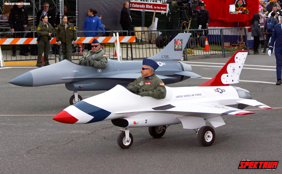 A pair of the US Air Force's Mini Jets