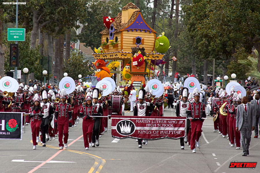 From Georgia, the Mr. Luther King Jr. High School marching band