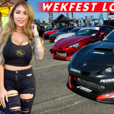 Cars on the Waterfront: Wekfest 2017 Long Beach at the Queen Mary and the Price of Happiness
